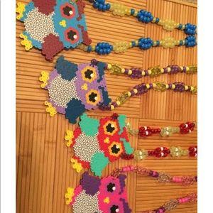 Jewelry - Owl Kandi necklaces